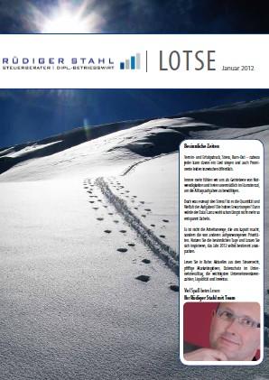 Mandantenzeitschrift Januar 2012