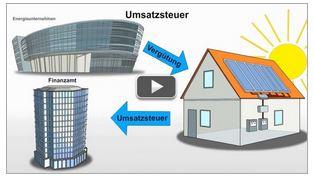 """Steuer-Erklärvideo des Monats September: """" Photovoltaikanlagen: Was Sie bei der Steuer beachten sollten"""""""